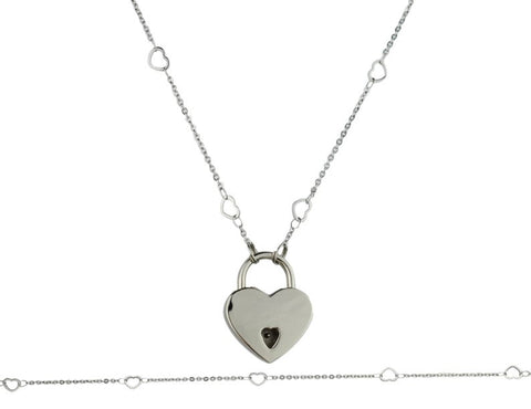 316L Surgical Stainless Steel Open Heart BDSM Day Collar