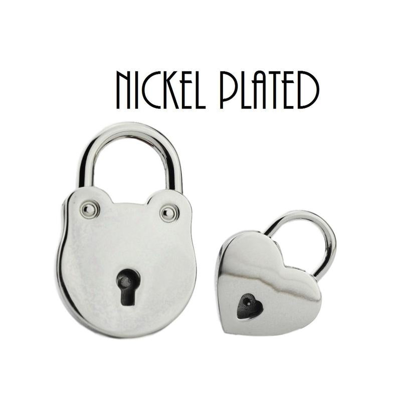 Hypoallergenic Nickel Plated Locks