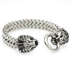 Dominant 316L Surgical Stainless Steel High Quality Bracelet with BDSM O Ring