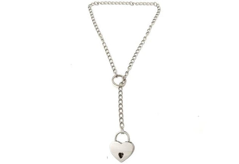 Classic Lariat Solid 925 Sterling Silver BDSM Day Collar