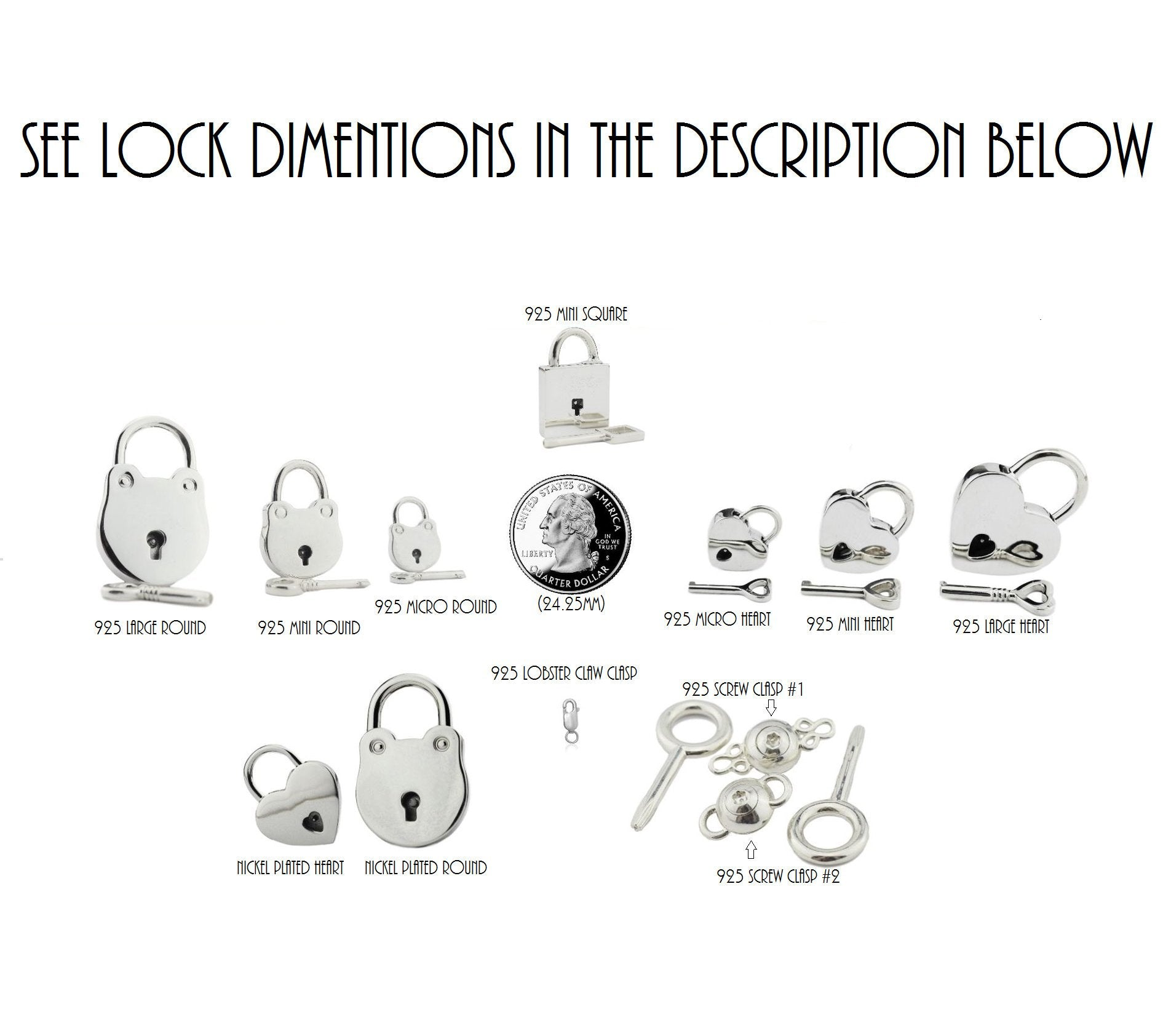 High Quality 925 Sterling Silver Hypoallergenic Locking, lock, padlock BDSM Cuff Day Collar Bondage Sub Kink Slave Submissive ToBeHis Engraving