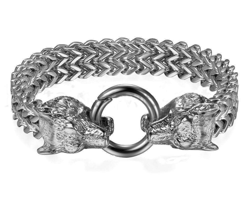 Dominant 316L Surgical Stainless Steel High Quailty Bracelet with BDSM O Ring