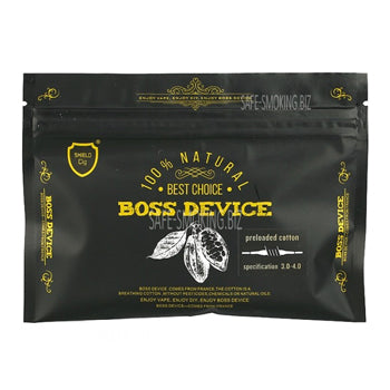 Boss Device Preloaded Cotton