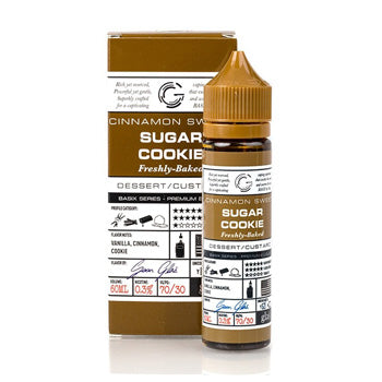BASIX SERIES - SUGAR COOKIES BY GLAS E-LIQUID