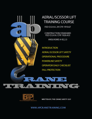 Aerial Scissor Lift Training Handbook: Student Workbook
