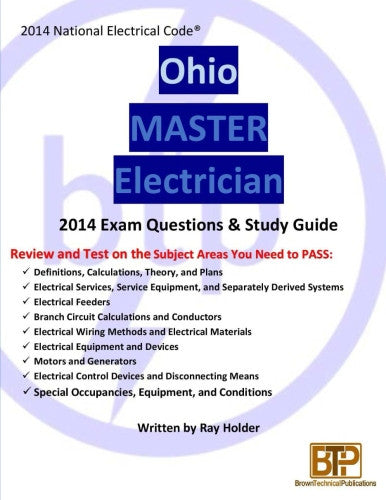 Ohio 2014 Master Electrician Study Guide