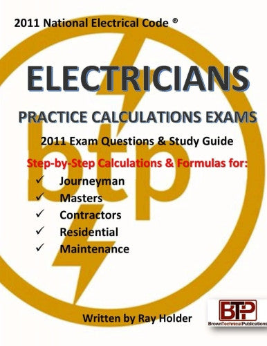 2011 Electricians Practice Calculations Exams