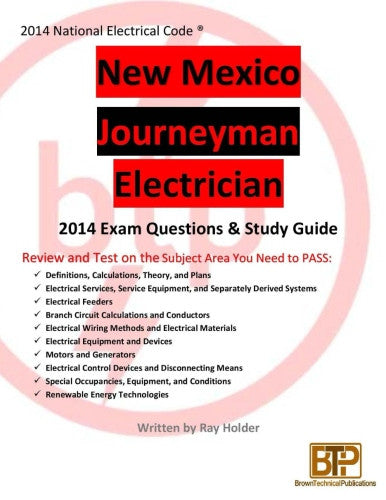 New Mexico 2014 Journeyman Electrician Study Guide