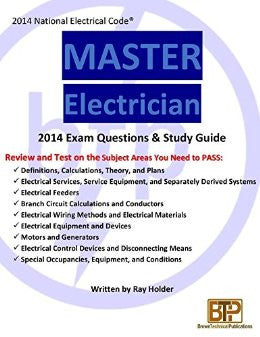 Master Electrician Exam Questions and Study Guide 2014