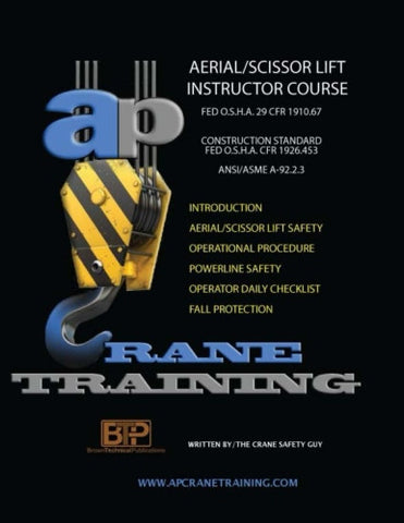 Aerial / Scissor Lift Training Course Instructors Book