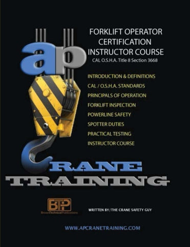 Forklift Operator Certification Instructor Course