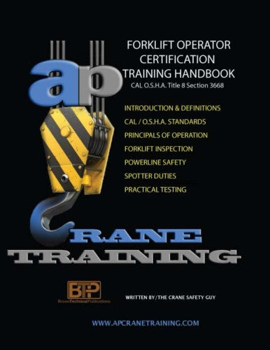 Forklift Operator Certification Training Handbook