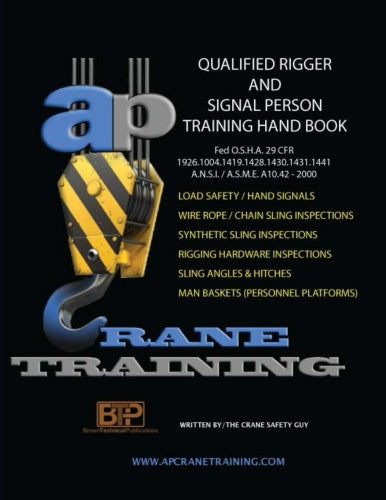 Qualified Rigger / Signal Person Training Course Student Book