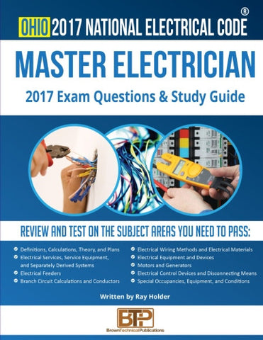 Ohio 2017 Master Electrician Exam Questions and Study Guide