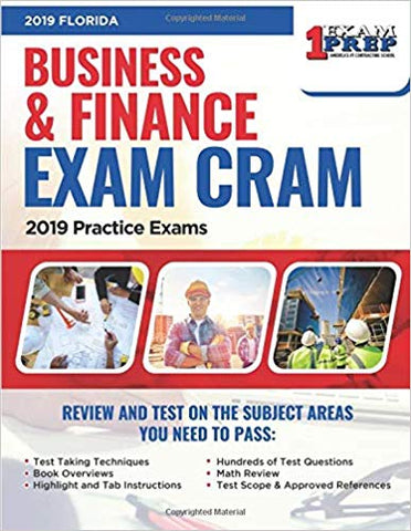 2019 Florida Business & Finance Exam Cram: 2019 Practice Exams