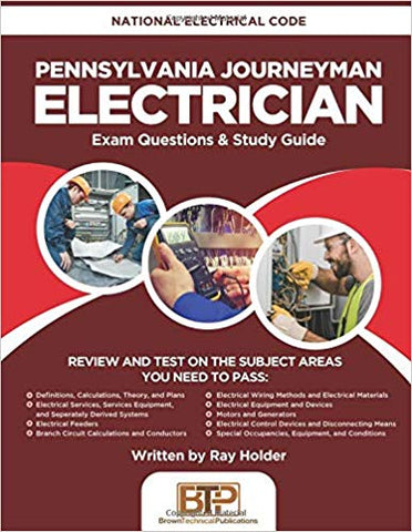 Pennsylvania Journeyman Electrician: National Electrical Code Exam Questions & Study Guide