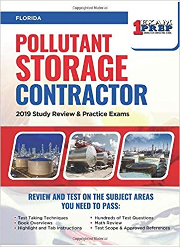 Florida Pollutant Storage Contractor: 2019 Study Review & Practice Exams