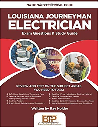 Louisiana Journeyman Electrician: National Electrical Code Exam Questions & Study Guide