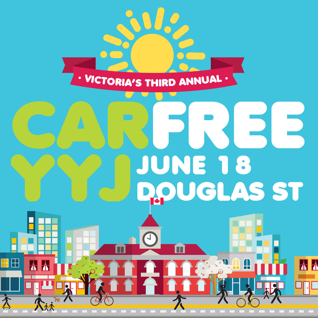 Ola at Car Free YYJ!