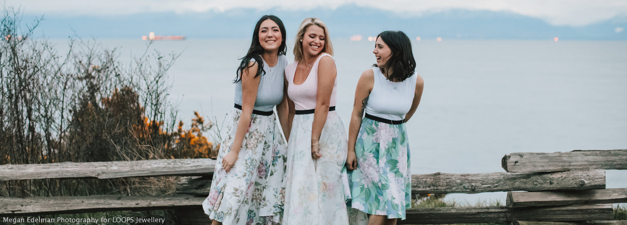 Pretty Fit and Flare Dresses for Weddings made in Victoria BC