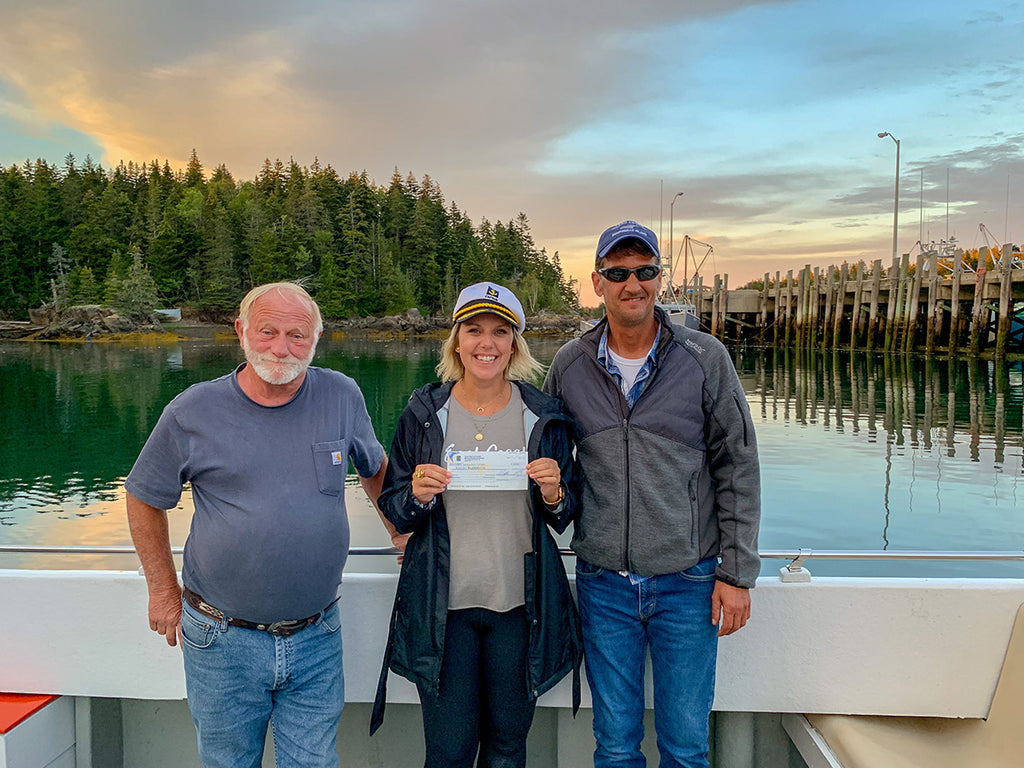 Our Annual Donation: Campobello Whale Rescue Team