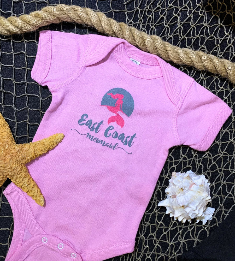 East Coast Mermaid Onesie by Sandy Toes Shop