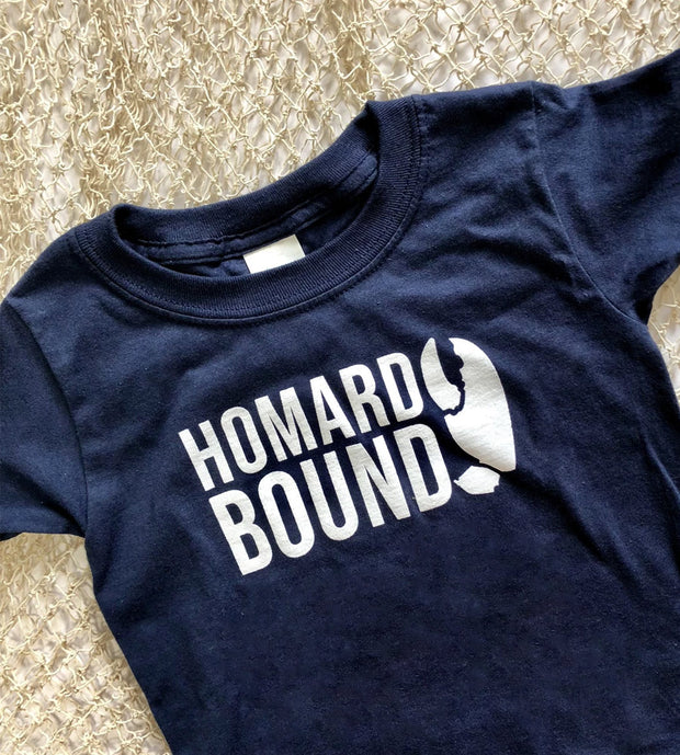 Homard Bound Toddler Tees blue by sandy toes shop