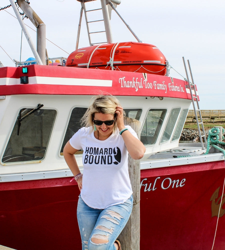 Homard Bound Ladies T-Shirt
