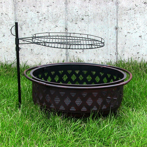Adjustable Fire Pit Cooking Grate