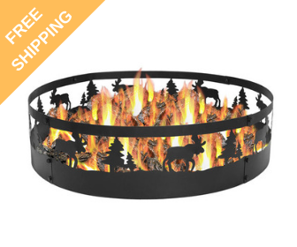Wild Moose Campfire Ring - free shipping