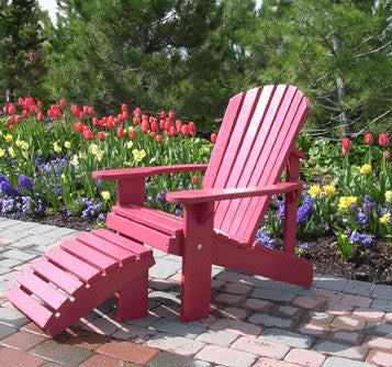 Adirondack Chair - Painted/Partially Assembled