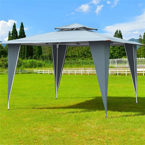 Steel & Waterproof Polyester Canopy - 11.5 x 11.5