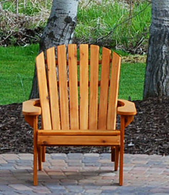 Adirondack Big Boy Chair - painted/partially assembled