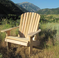 Adirondack Big Boy Chair Kit - unfinished/unassembled