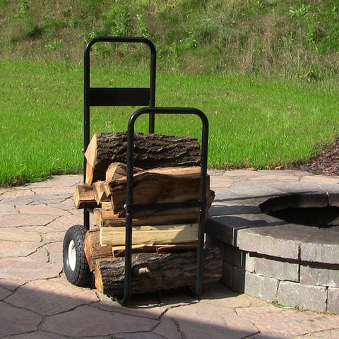 Firewood Log Cart w/Cover