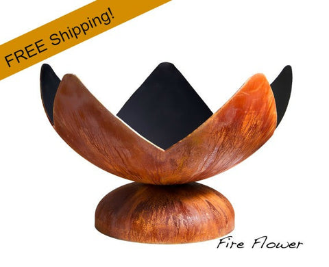 Ohio Flame Fire Bowl - Fire Flower - Free Shipping