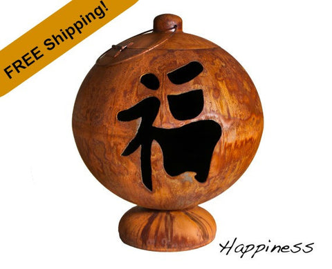 Ohio Flame Fire Globe - Happiness - Free Shipping