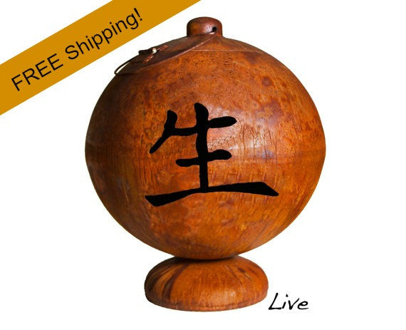 Ohio Flame Fire Globe - Live - Free Shipping