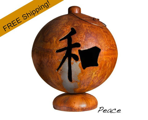Ohio Flame Fire Globe - Peace - Free Shipping