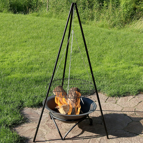 Tripod Grill w/Cooking Grate