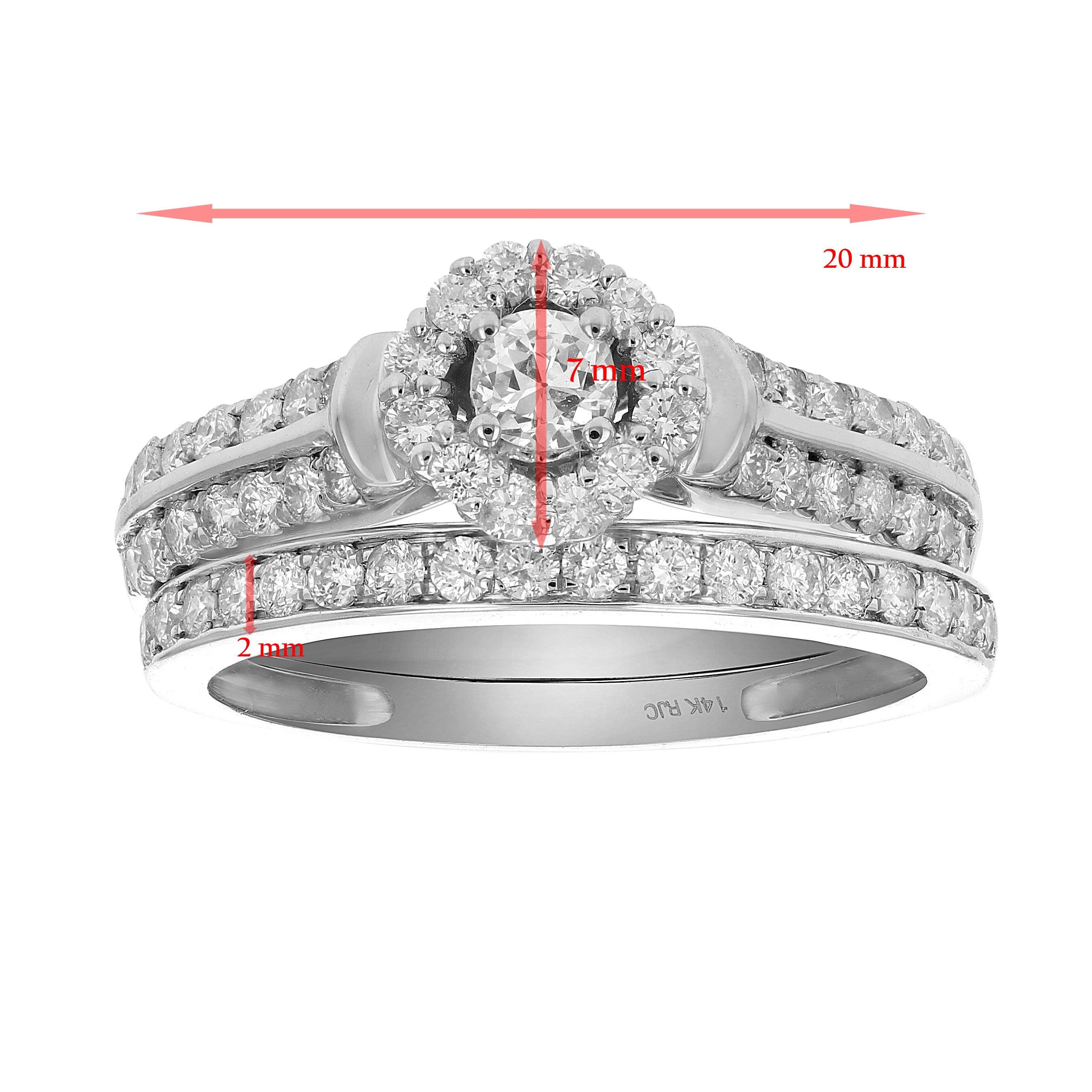 seven stone diamond taylor jewellery cluster rubover ring ga shop