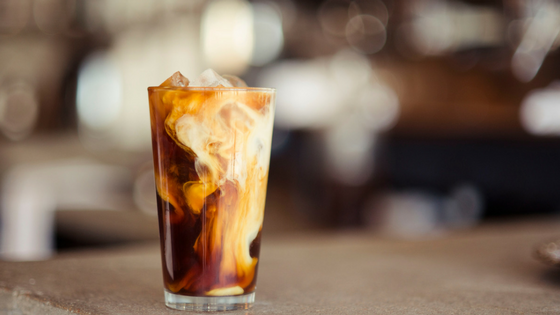 Cold-Brewed Iced Coffee Recipe - At Home