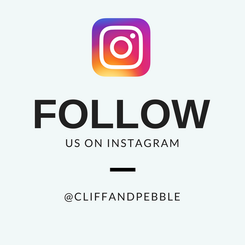 cliff and pebble instagram