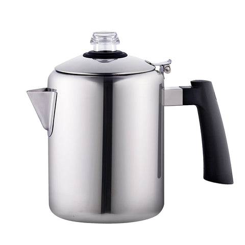 stainless steel coffee percolator
