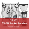 5% OFF Rocket Espresso Bundles