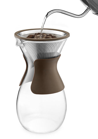 filterless pour over coffee maker