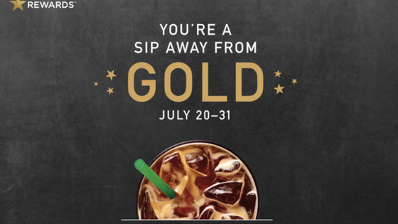 starbucks gold status