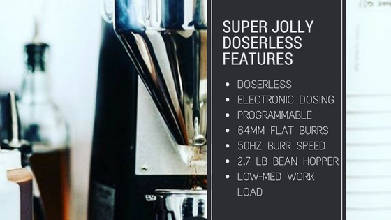mazzer super jolly doserless