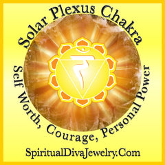 Solar Plexus Chakra Self Worth Courage Personal Power - Spiritual Diva