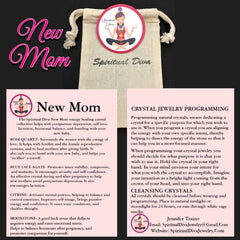 New Mom Mother healing crystal gemstone collection Spiritual Diva Jewelry